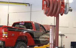 Garage Fume Exhaust Ventilation
