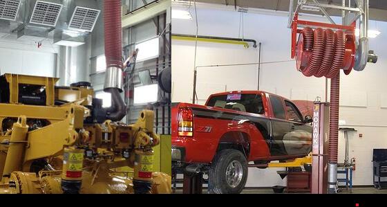 Exhaust Hose for Garage Ventilation